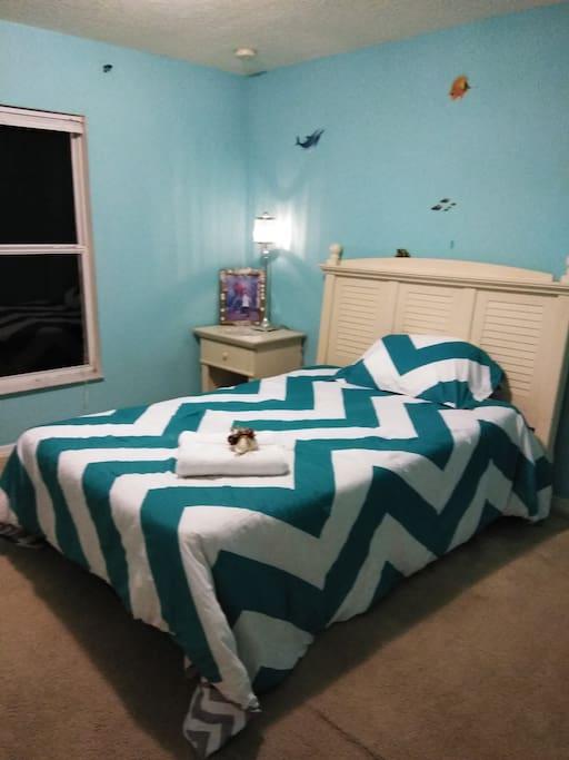 Bedroom for visitors