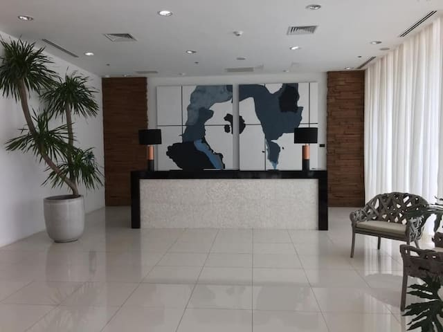 Reception area where you need to register and present your authorization letter and photocopy of ID