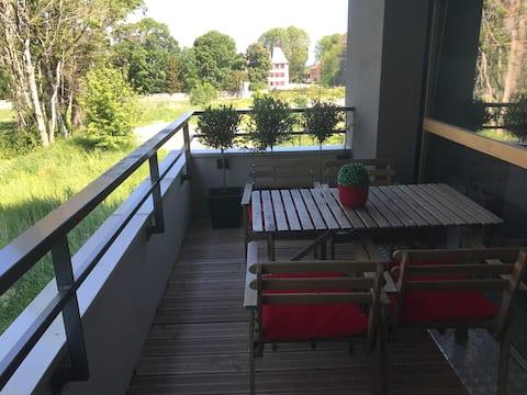 Chambre privée, proche frontière Suisse (Genève)