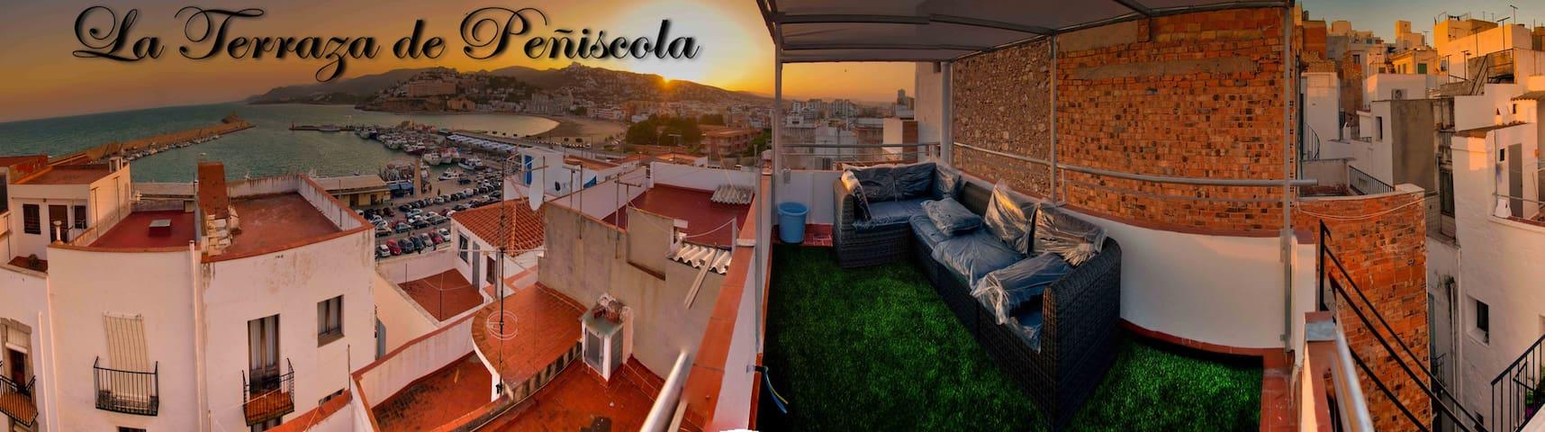 La Terraza Chill Out de Peñiscola - Peñíscola - Hus