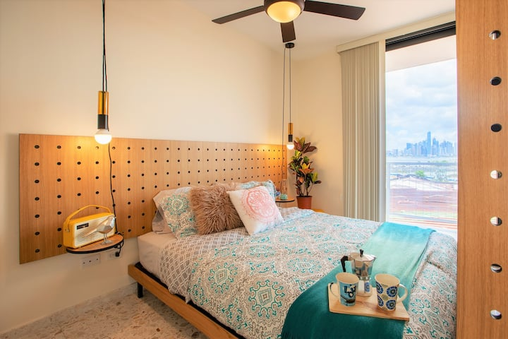 LUXURY STUDIO in Casco Viejo, Ocean & City View #3