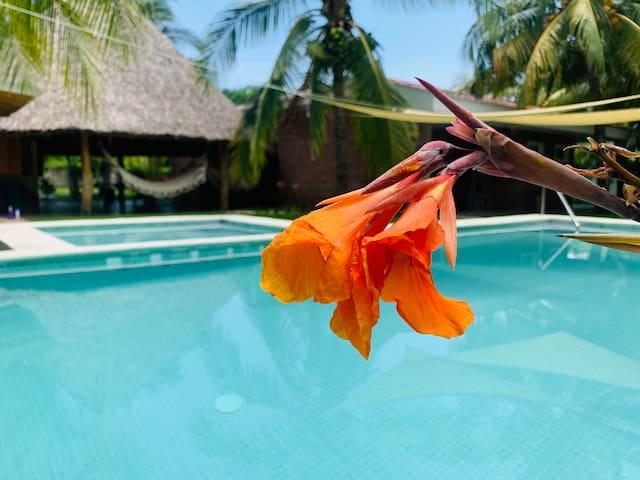 Preciosa casa de playa Costa del Sol, El Salvador