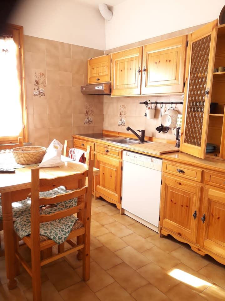 Solare appartamento con due camere da letto