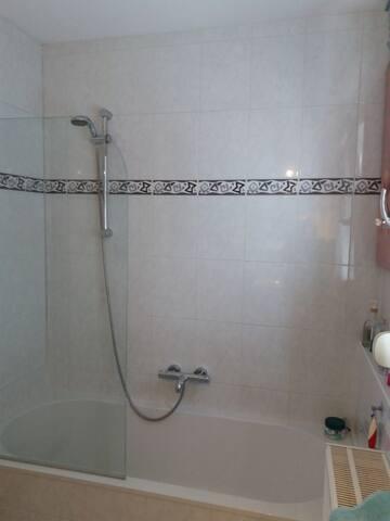 bad met douche