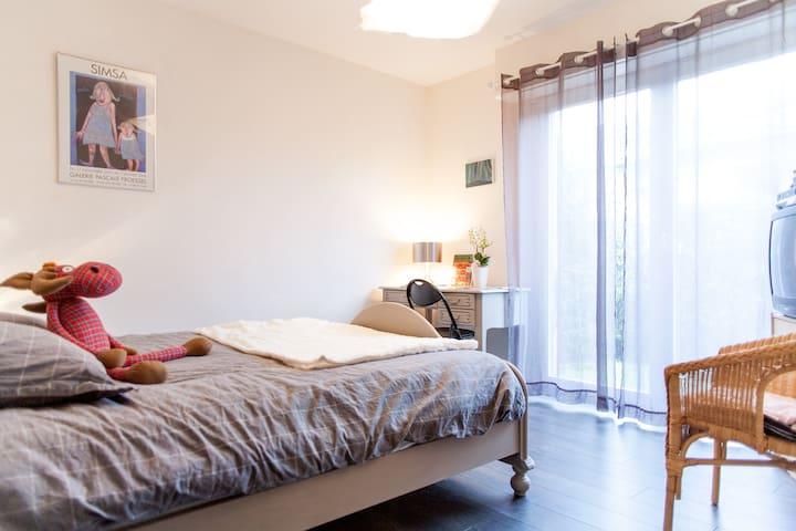 Chambre d'hôte chez Sarah et Guigui - Zimmerbach - ที่พักพร้อมอาหารเช้า