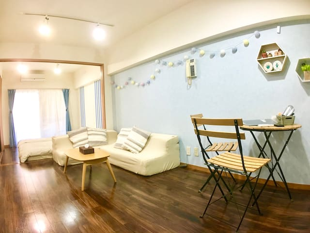 M5. Shibuya 7 min walk! MAX 7people! - Shibuya-ku - Apartment