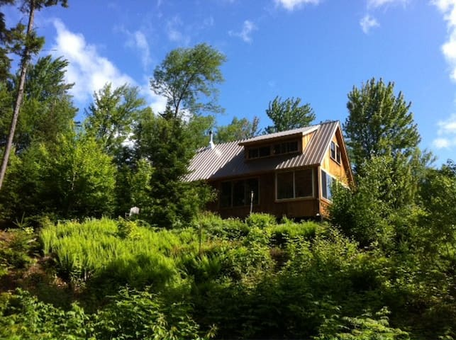 Cabin by the Stream on 27 Acres - Woodstock - Cabana