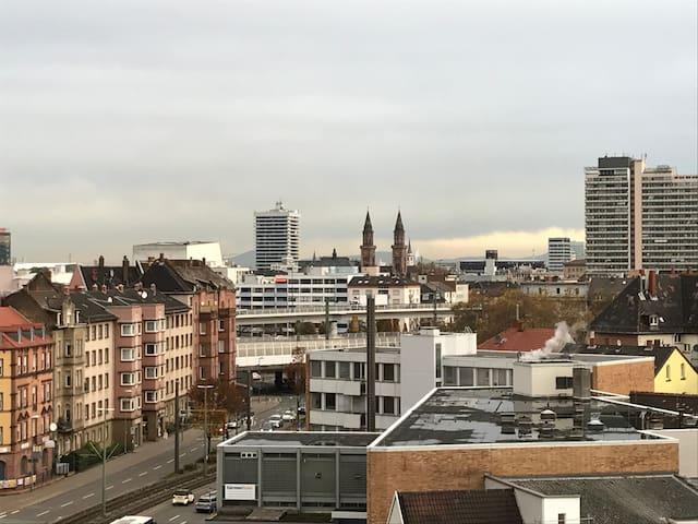 2 zimmer penthouse in ludwigshafen mannheim wohnungen zur miete in ludwigshafen am rhein. Black Bedroom Furniture Sets. Home Design Ideas