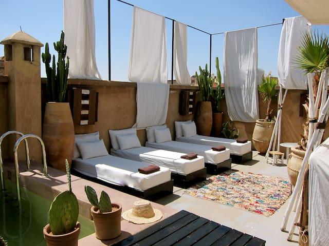 Stylish Riad very central pool/wifi - Marrakesh - Talo