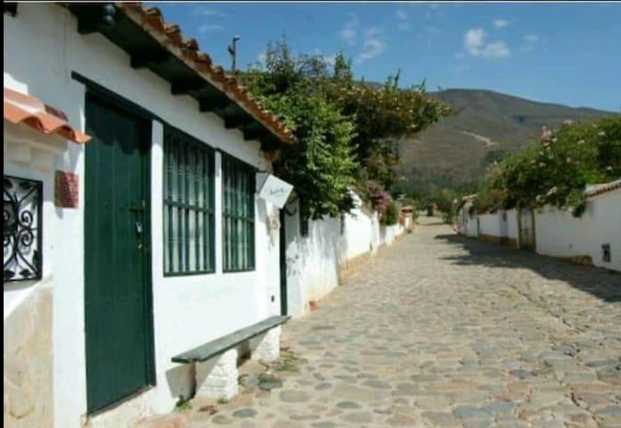 Apartamento (2 a 5 personas) - Villa de Leyva - Daire