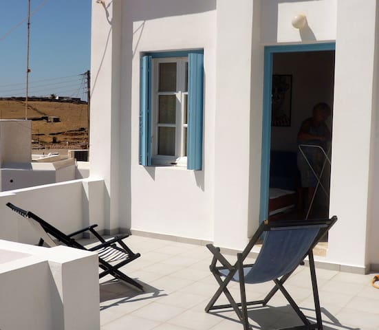 Charming apartment on Kythnos  - Kithnos - Pis