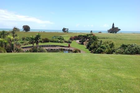 Tuhinga O Mua (View of the Sea) in a rural setting