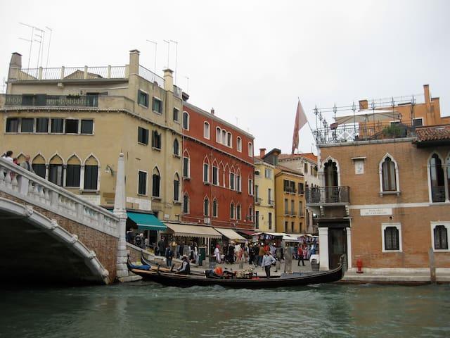 Fabulous view over the Guglie bridge - Venetsia - Huoneisto