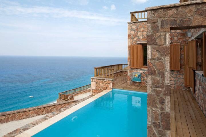 Lefkada villas- 3 villas complex - Agios Nikitas - Villa