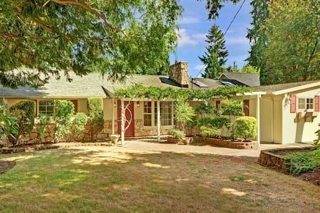Spacious house  in central Seattle/Kirkland - Kirkland - House