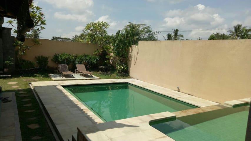 UBUD 2 BedRoom Residence villa - Tampaksiring - Casa de campo