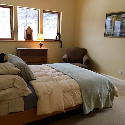 Gigi Queen main floor queen bedroom
