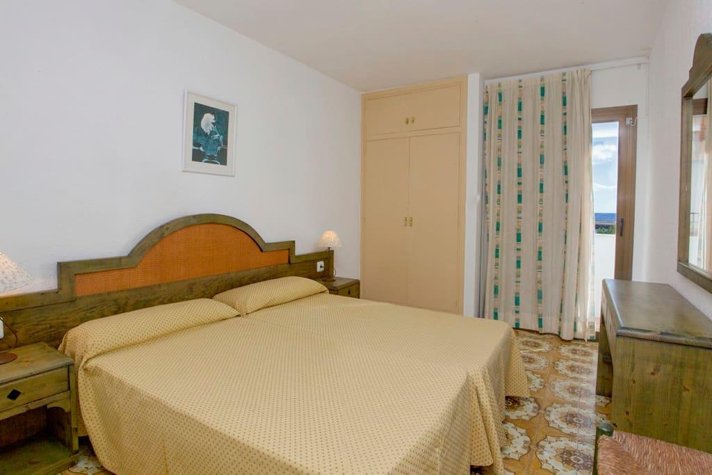 Dormitorio de los  apartamentos
