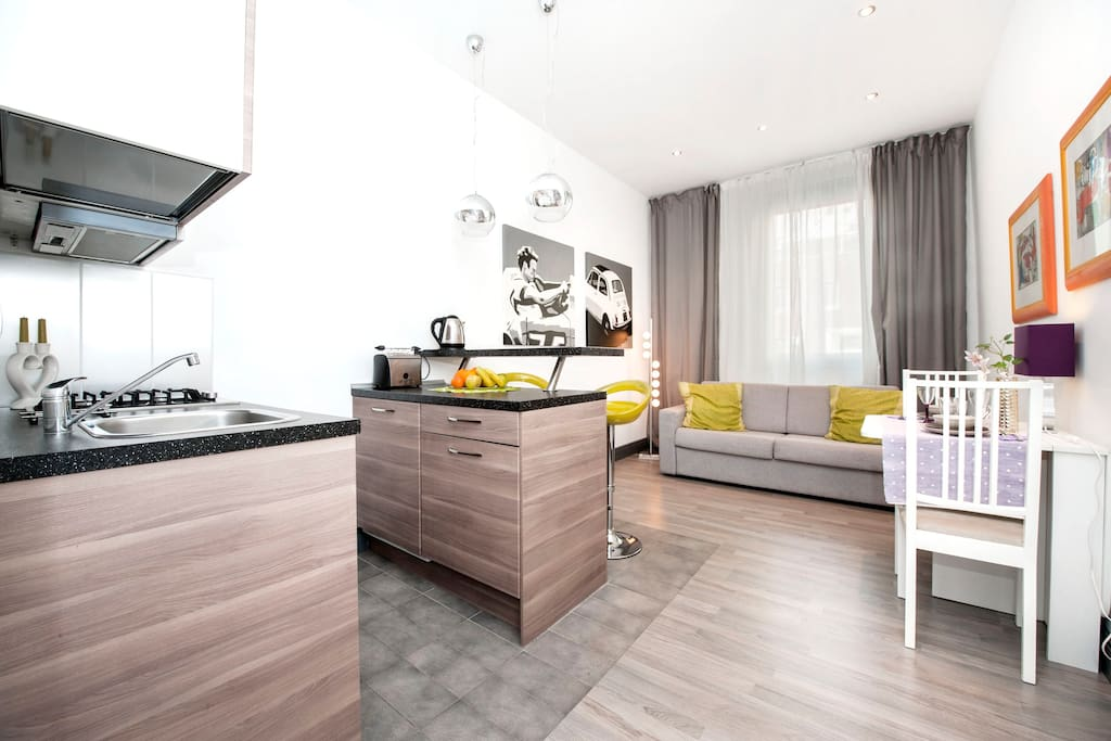 Brand new mini loft nice price apartments for rent in rome lazio italy for Cost to clean 2 bedroom apartment