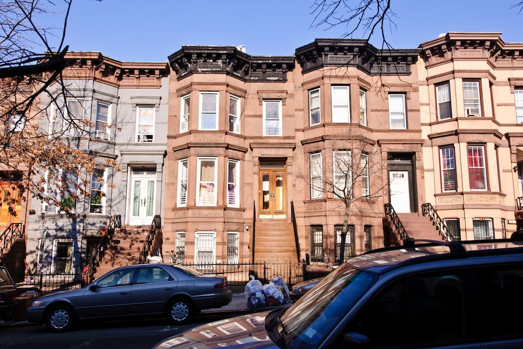 Historic Brownstone Row Houses on 45th Street