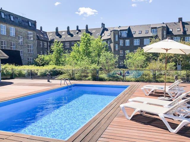 Lovely apartment w pool & fitness near city & sea