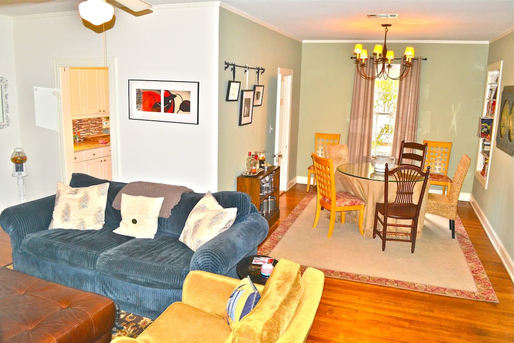 large dining area/living room