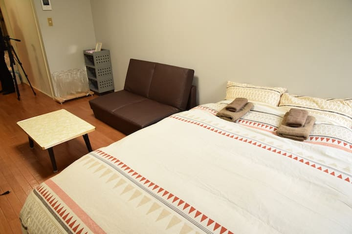 TK01/4min from station/Wifi/SelfCI/4people/Shibuya