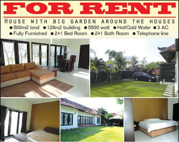 House For Rent in Denpasar, Bali.