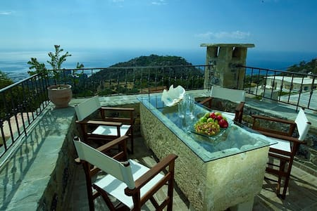 Privileged position Villa-sea view - Anatoli - Villa