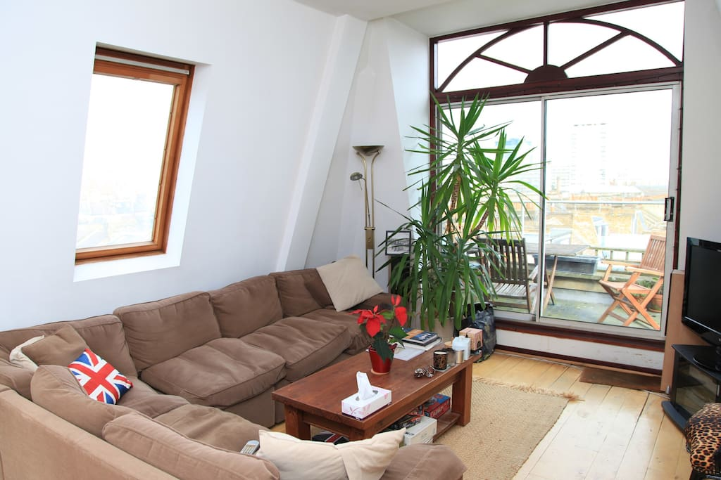 Main living room of apartment