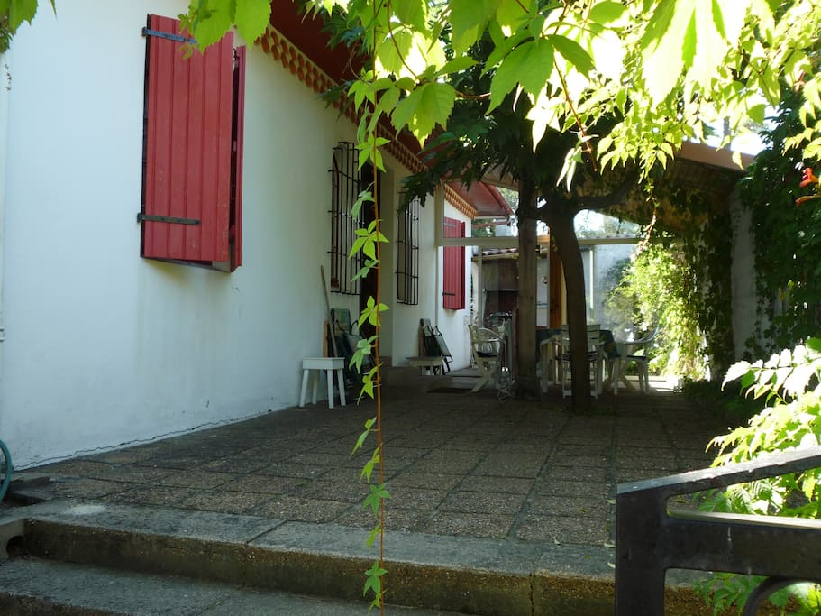 terrasse, patio