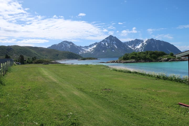 Bjarkøy Camping in the heart of Northern Norway