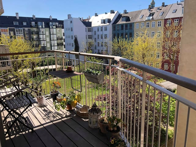 Beautiful room in nice apartment in Old Copenhagen
