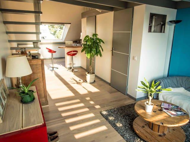 Studio atypique N° 2 dans maison bois