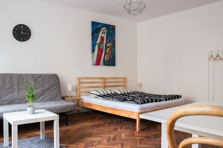 Cosy studio - 10 minutes to city centre by walk