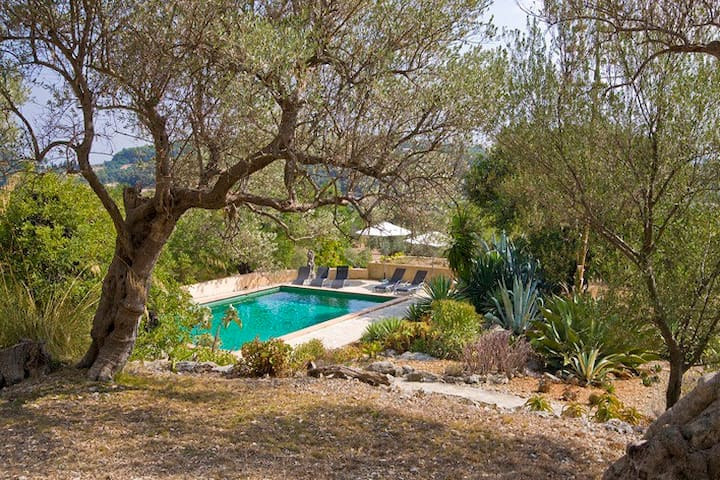 Villa with private pool and beautiful garden - Selva