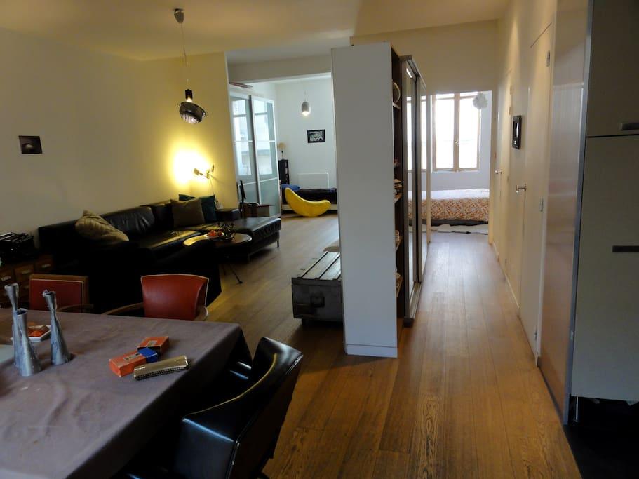 Appartement spacieux bdx centre appartements louer for Appartement louer bordeaux