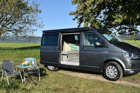 Enjoy in Switzerland with my Camper California