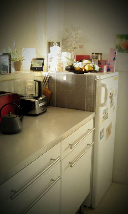 La cuisine à votre disposition
