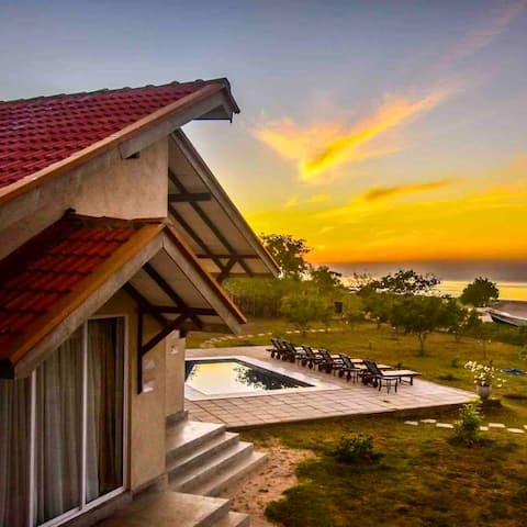 Cheerful Beach Bungalow with Pool
