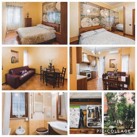 Two-room apartment Rome Lido Nord