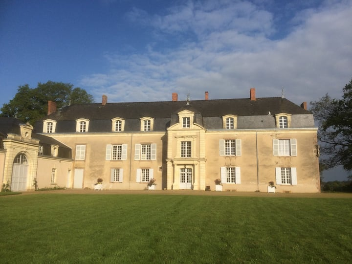 Chateau de Piedouault, in the Anjou