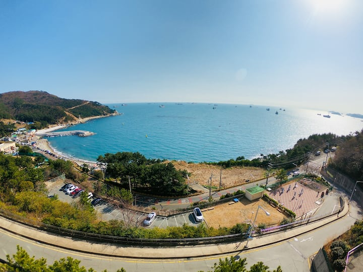 Cozy Flat with No.1 ocean view in Busan