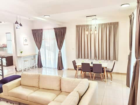 🎉Promotion🎉 Semi D Homestay 2R2B For 8 Guest