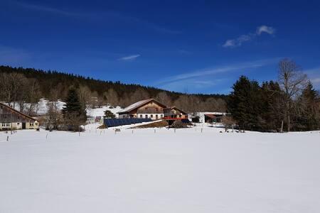 Appartement à la campagne au Val-de-Travers