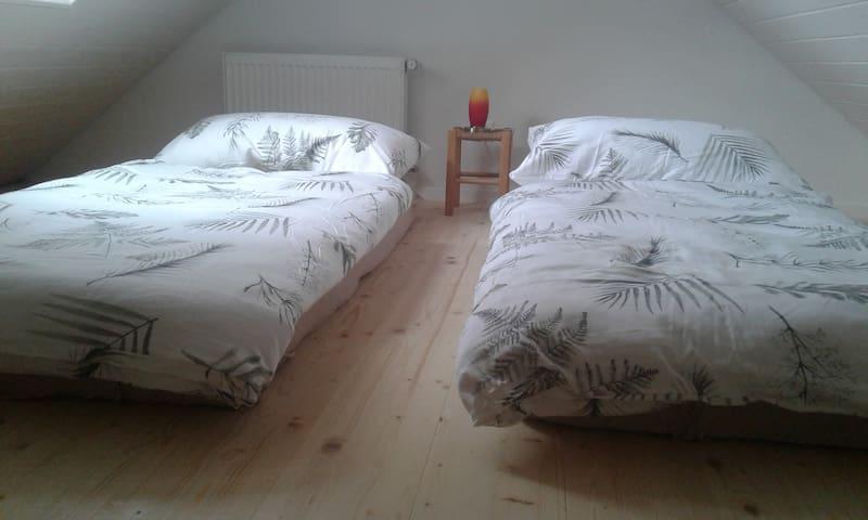 Schlafzimmer 2 auf der Galerie