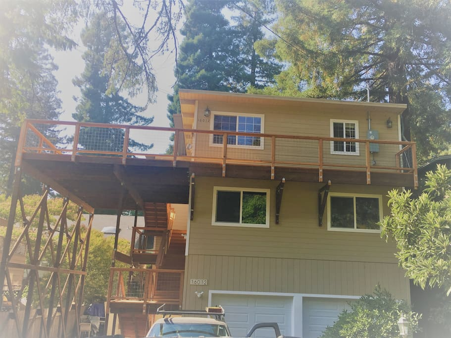 Third floor of this craftsman style home.  All newly finished construction!
