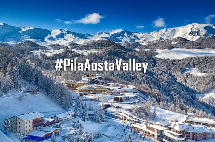 #Aosta Valley PILA: Ski & Bike  in Paradise