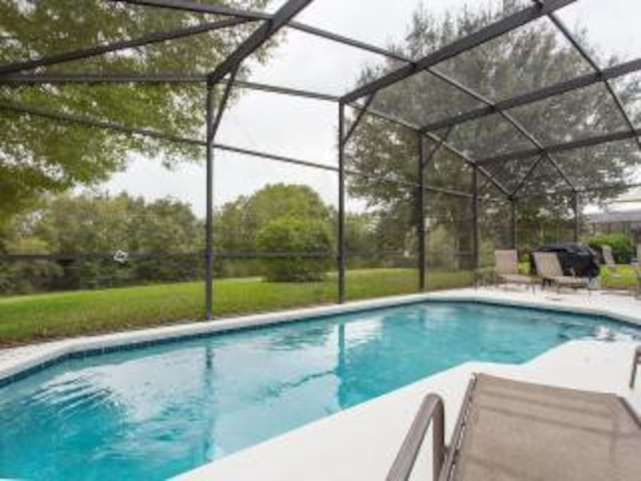 Private pool - contact for pool heat fee.