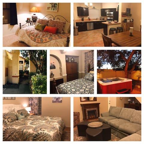 Auriga Home Retreat: Roomy 4 bedroom, 3 full bath